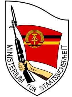 Logo för Ministerium für Staatssicherheit, Stasi