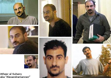 """Atheer al-Suhairy, """"Alexandramannen"""""""